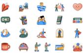 Juntos en Casa: Whatsapp  y la OMS lanzan nueva colección de stickers