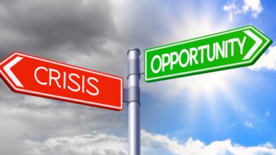 Oportunidad en la crisis