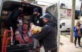 Iglesias unidas donaron dos toneladas de alimentos