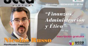 """Capacitación Virtual: """"Finanzas, administración y Ética"""""""