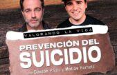 Prevención y suicidio: Matias Kornetz mano a mano con Gastón Pauls