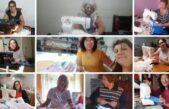 Costureras que bendicen: iglesia de Neuquén formó un equipo que asiste a hospitales