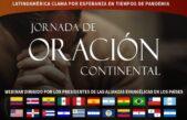 Jornada de Oración Continental por Esperanza en tiempos de pandemia