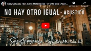 Susy Gonzalez celebra el lanzamiento acústico «Llegaste a Tiempo»