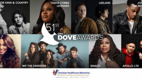 La asociación de músic gospel da a conocer la primera lista de  interpretes para la 51A entrega anual de los GMA Dove Awards