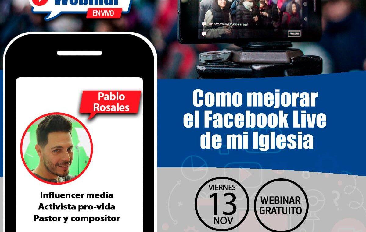 COMO MEJORAR EL FACEBOOK Y EL YOUTUBE LIVE DE MI IGLESIA