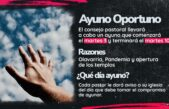 Las Iglesias de Olavarría comenzaron una cadena de Ayuno y Oración