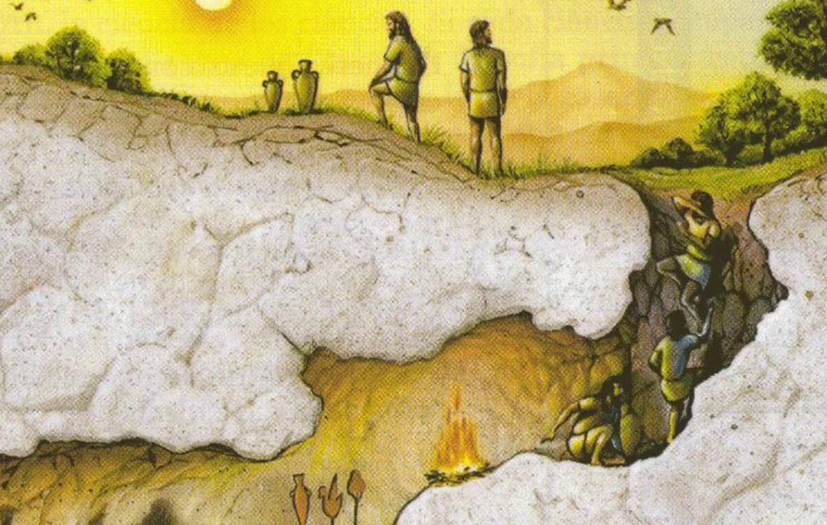 La caverna por Emanuel Fernandez
