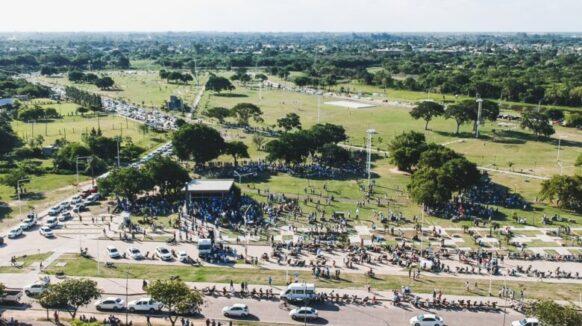 Multitudinaria movilización en Chaco en defensa de las dos vidas