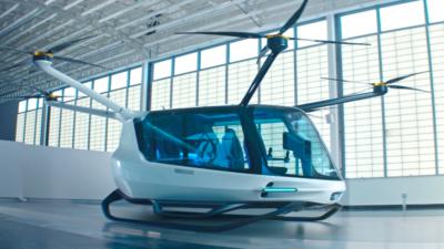 El taxi volador autónomo ya no es sólo conceptos