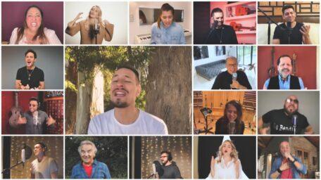 Alex Campos, Patricia Sosa, Rodrigo Tapari estrenan la nueva versión «La Bendición»!