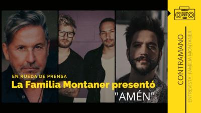 """La familia Montaner presentó en rueda de prensa """"AMEN"""", canción que se volvió un himno universal"""