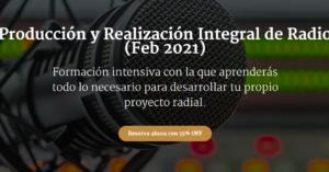 """COICOM anuncia el Curso """"Producción y Realización Integral de Radio"""""""