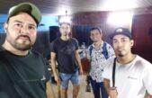 """""""Teke"""" Vásquez, amigos, cumbia, y Streaming…"""