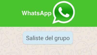 Cómo abandonar grupos de WhatsApp sin que nadie lo note