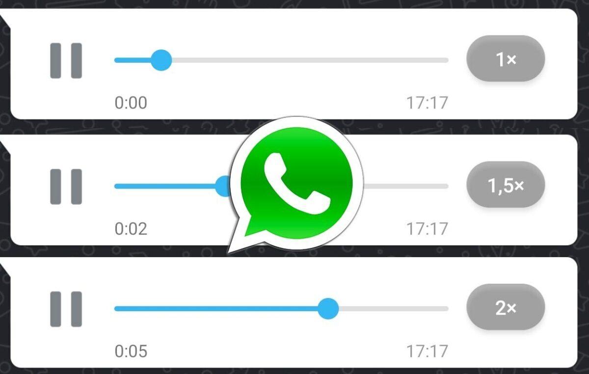 WhatsApp permite acelerar los audios: cómo se activa esta nueva función