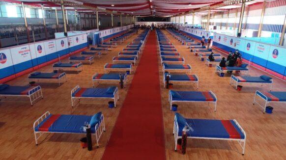 Una iglesia en India convierte sus instalaciones en un centro para pacientes de Covid-19 vulnerables