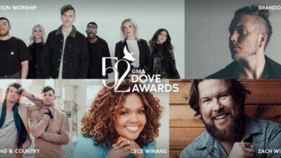 Los GMA Dove Awards anuncian nominaciones de su 52a edición