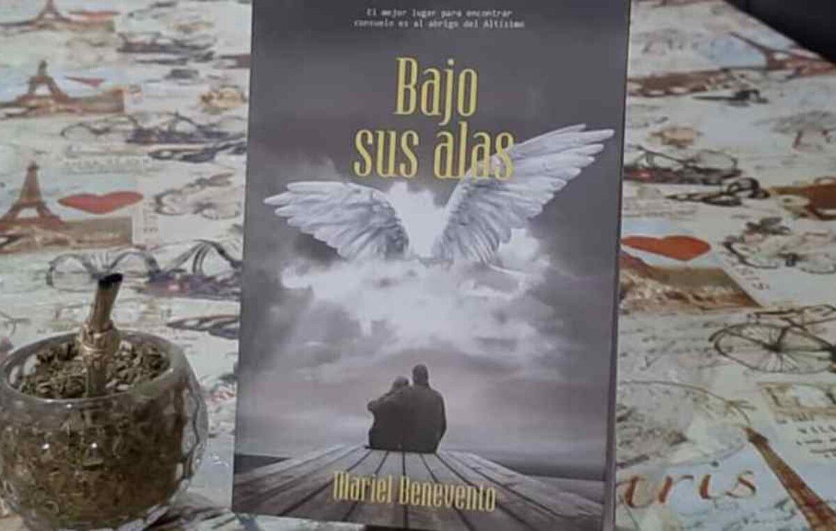 """Mariel Benevento presentará su libro """"Bajo sus alas"""""""