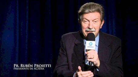Partió a la presencia del Señor el pastor Rubén Proietti, presidente de ACIERA
