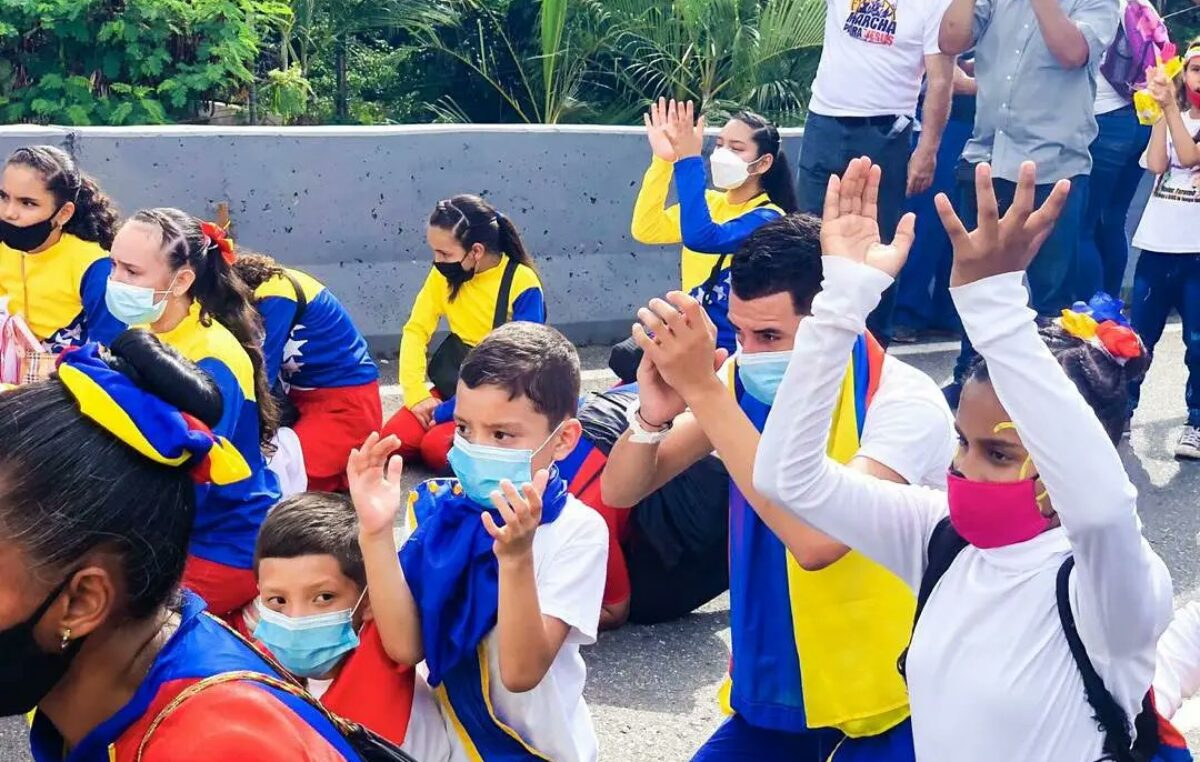 """""""Marcha para Jesús 2021"""" en Venezuela"""